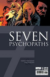 cover: 7 Psychopaths issue #1