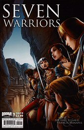 cover: 7 Warriors issue #2