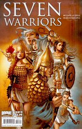 cover: 7 Warriors issue #3