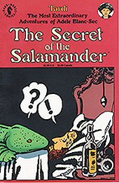 cover: Adele Blanc-Sec - The Secret of the Salamander