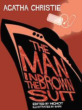 cover: Agatha Christie - The Man in the Brown Suit