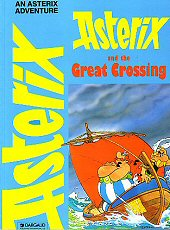 cover: Asterix and the Great Crossing, 1995