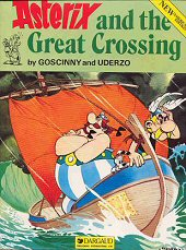 cover: Asterix and the Great Crossing, 1985