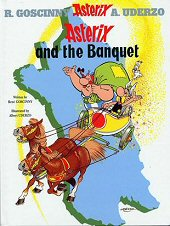 cover: Asterix and the Banquet