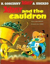 cover: Asterix and the Cauldron
