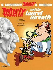 cover: Asterix and the Laurel Wreath