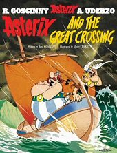 cover: Asterix and the Great Crossing