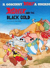 cover: Asterix and the Black Gold