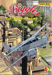 cover: Biggles - The Lost Qasis - 1