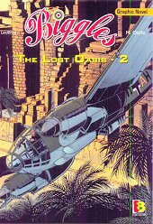 cover: Biggles - The Lost Qasis - 2