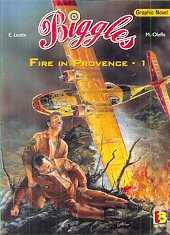 cover: Biggles - Fire In Provence - 1