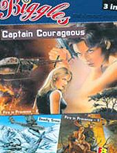cover: Biggles - Captain Courageous