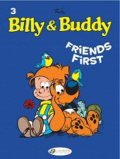 cover: Billy and Buddy - Friends First