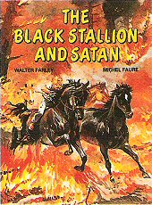 cover: The Black Stallion and Satan