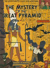 cover: Blake & Mortimer - The Mystery of the Great Pyramid, The Papyrus of Manethon