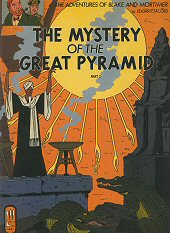 cover: Blake & Mortimer - The Mystery of the Great Pyramid, The Chamber of Horus