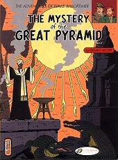 cover: Blake & Mortimer - The Mystery of the Great Pyramid - Part 2