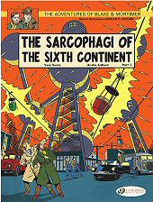 cover: Blake & Mortimer - The Sarcophagi of the Sixth Continent Part 1