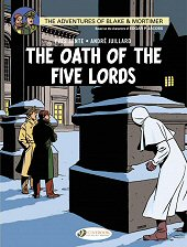 cover: Blake & Mortimer - The Oath of the Five Lords