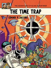 cover: Blake & Mortimer - The Time Trap