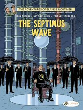 cover: Blake & Mortimer - The Septimus Wave