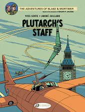 cover: Blake & Mortimer - Plutarch's Staff