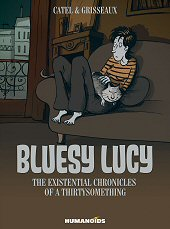 cover: Bluesy Lucy - The Existential Chronicles of a Thirtysomething