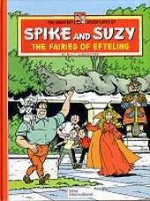 cover: Spike and Suzy - The Fairies of Efteling
