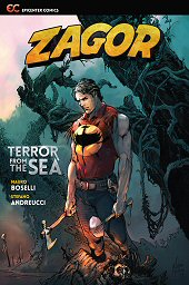 cover: Zagor Vol. 1: Terror from the Sea