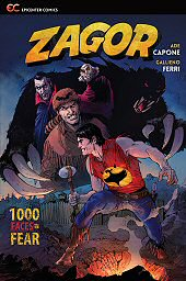 cover: Zagor Vol. 5: 1000 Faces of Fear