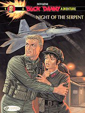 cover: Buck Danny - Night of the Serpent