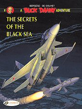 cover: Buck Danny - The Secrets of the Black Sea