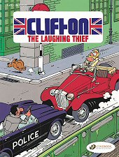 cover: Clifton - The Laughing Thief