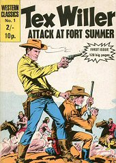 cover: Tex Willer 1: Attack at Fort Summer