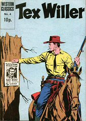 cover: Tex Willer 4: Navaho Blood