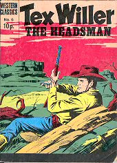 cover: Tex Willer 6: The Headsman