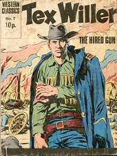 cover: Tex Willer 7: The Hired Gun