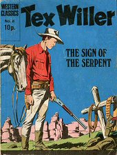 cover: Tex Willer 8: The Sign of the Serpent