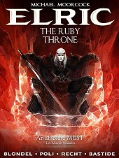 cover: Elric - The Ruby Throne