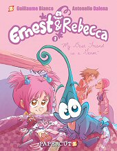 cover: Ernest & Rebecca - My Best Friend is a Germ