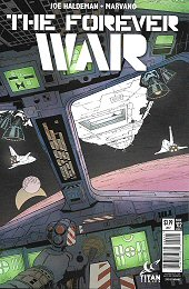 cover: The Forever War #2