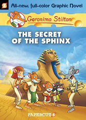 cover: Geronimo Stilton - The Secret of the Sphinx