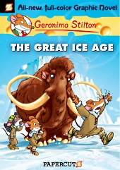 cover: Geronimo Stilton - The Great Ice Age