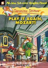 cover: Geronimo Stilton - Play it Again, Mozart!