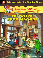 cover: Geronimo Stilton - The Weird Book Machine