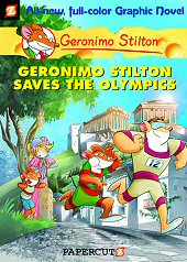 cover: Geronimo Stilton - Geronimo Stilton Saves the Olympics