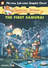cover: Geronimo Stilton - The First Samurai