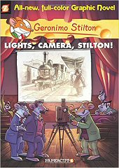 cover: Geronimo Stilton - Lights, Camera, Stilton!