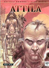 cover: Attila by Segura and Ortiz