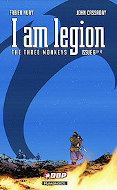 cover: I am Legion - The Three Monkeys, Part Two